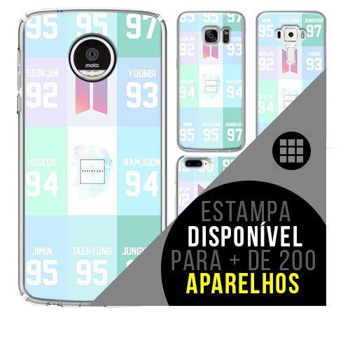 Capa de celular - BTS (Bangtan Boys) 28 [disponível para + de 200 aparelhos]