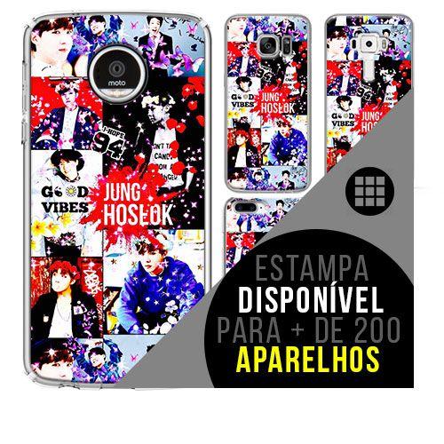 Capa de celular - BTS - J-Hope [disponível para + de 200 aparelhos]