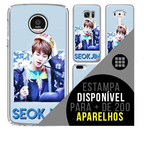 Capa de celular - BTS - Kim Seok-jin [disponível para + de 200 aparelhos]