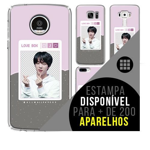 Capa de celular - BTS - Kim Seok-jin 3 [disponível para + de 200 aparelhos]