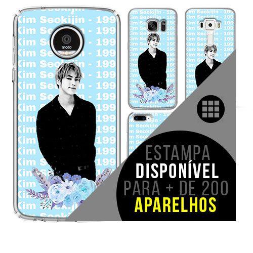Capa de celular - BTS - Kim Seok-jin 5 [disponível para + de 200 aparelhos]