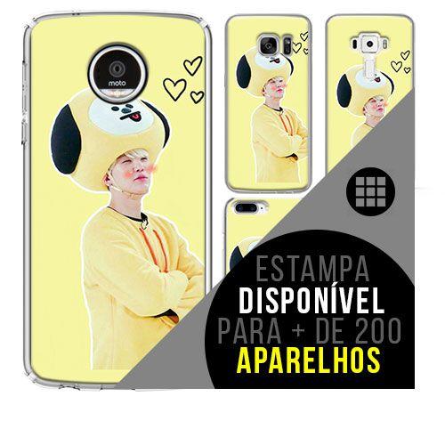 Capa de celular - BTS - Suga 4 [disponível para + de 200 aparelhos]