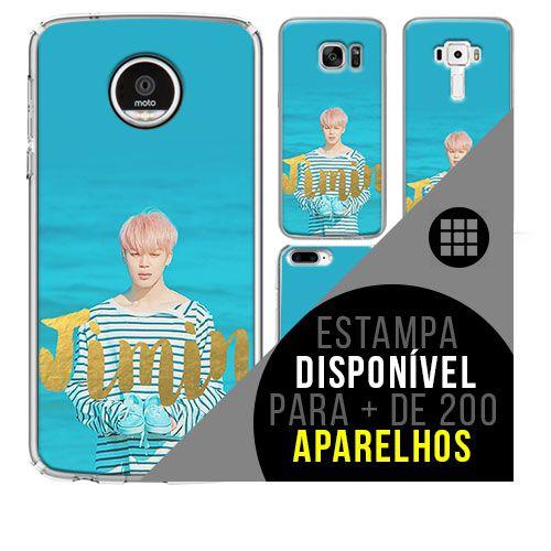 Capa de celular - BTS - Park Ji-min 4 [disponível para + de 200 aparelhos]
