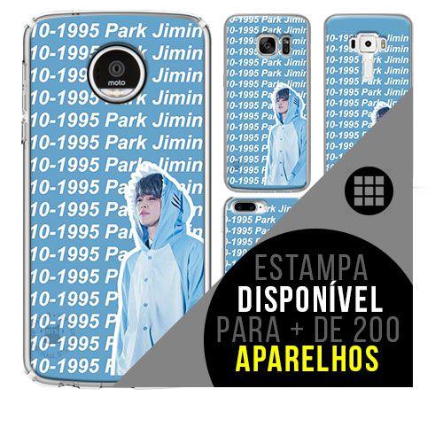 Capa de celular - BTS - Park Ji-min 3 [disponível para + de 200 aparelhos]