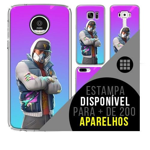 Capa de celular - FORTNITE ABSTRAKTO [disponível para + de 200 aparelhos]