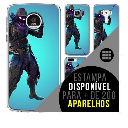 Capa de celular - FORTNITE Raven [disponível para + de 200 aparelhos]