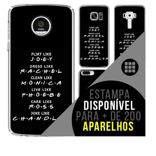 Capa de celular -  FRIENDS 4 [disponível para + de 200 aparelhos]