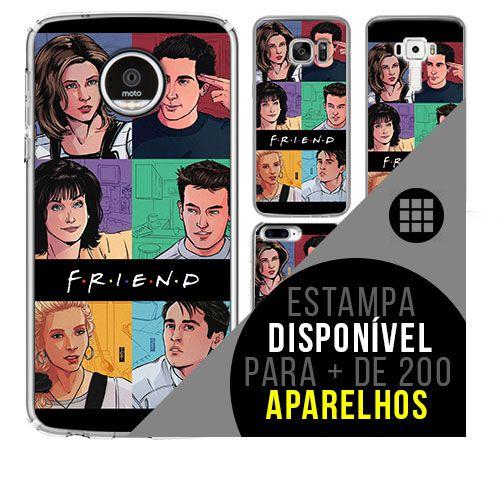 Capa de celular -  FRIENDS 15 [disponível para + de 200 aparelhos]