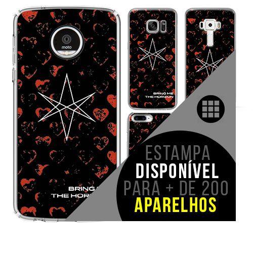 Capa de celular - Bring Me The Horizon [disponível para + de 200 aparelhos]