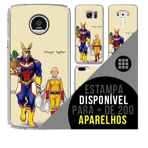 Capa de celular - One Punch-Man 2 [disponível para + de 200 aparelhos]