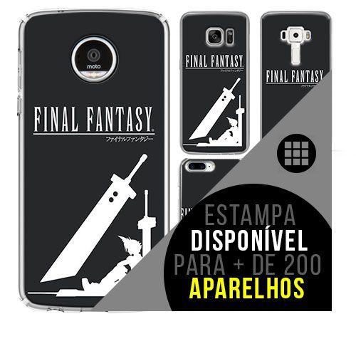 Capa de celular - Final Fantasy  [disponível para + de 200 aparelhos]
