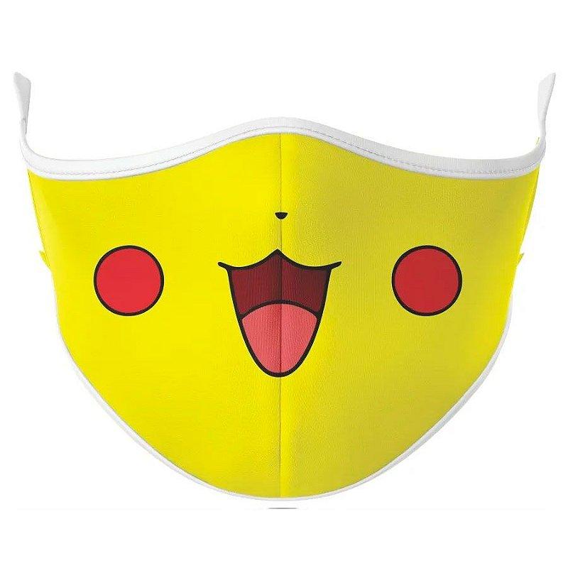 Máscara de tecido / Pano Pikachu Pokémon