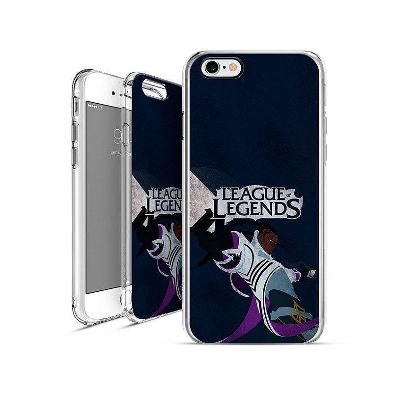 LEAGUE OF LEGENDS - Lucian |apple - motorola - samsung - sony - asus - lg|capa de celular