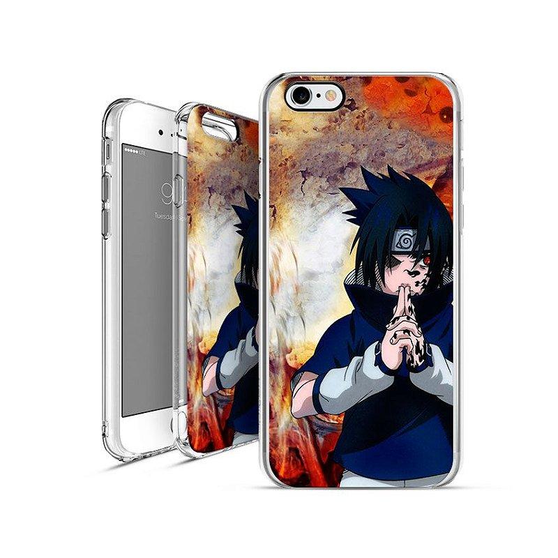 NARUTO - Sasuke Uchiha |  apple - motorola - samsung - sony - asus - lg | capa de celular