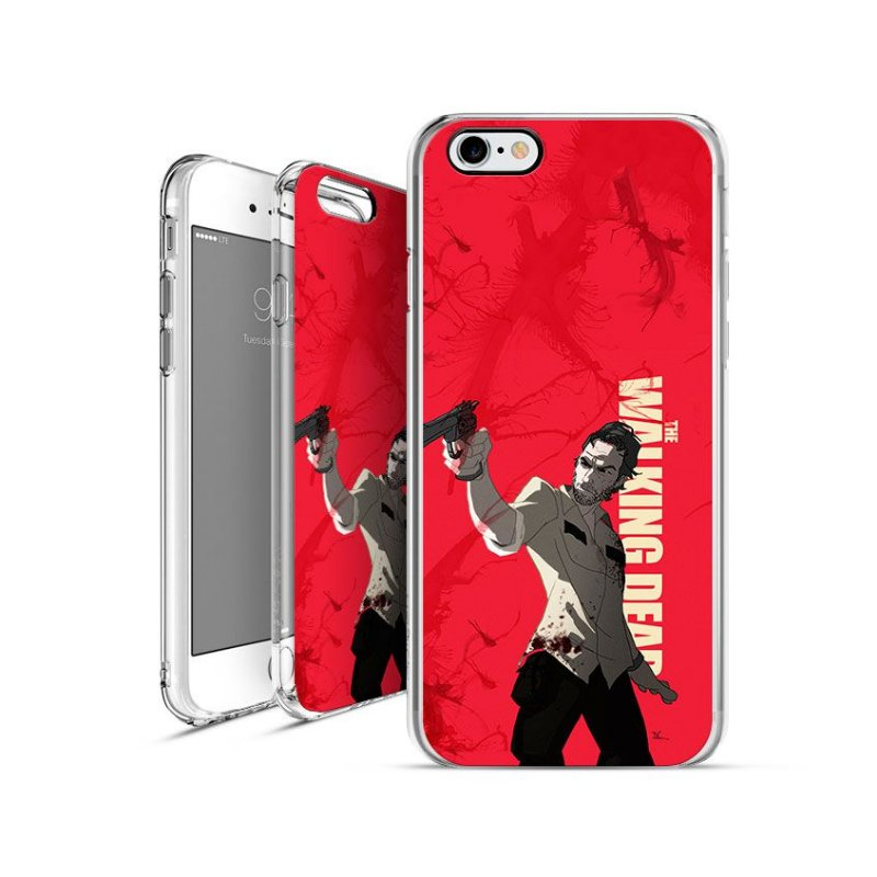 THE WALKING DEAD (séries) 3  | apple - motorola - samsung - sony - asus - lg | capa de celular