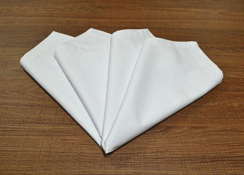 Guardanapo Branco (2 peças)