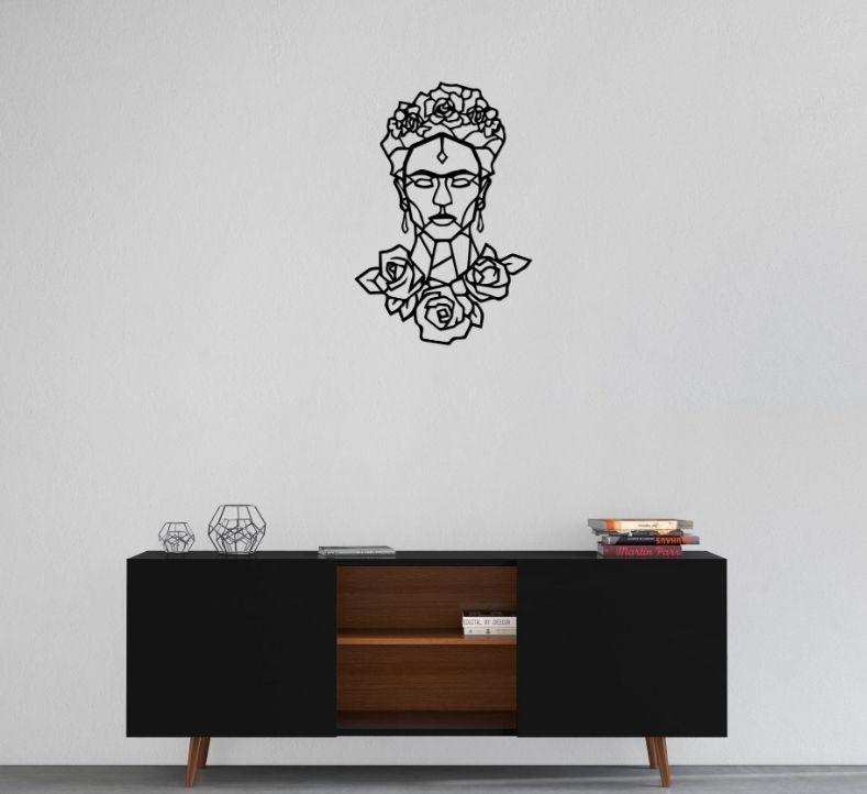 Frida Kahlo Geométrica