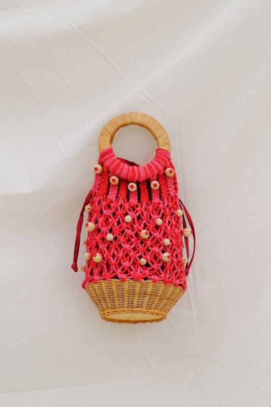 New Marô Cristais Bag - Red
