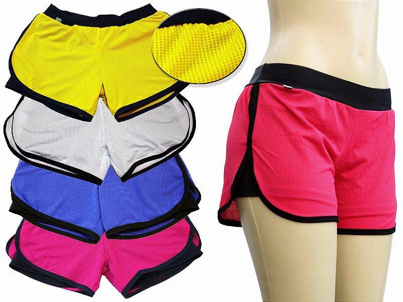 Kit com 3 Shorts Duplo