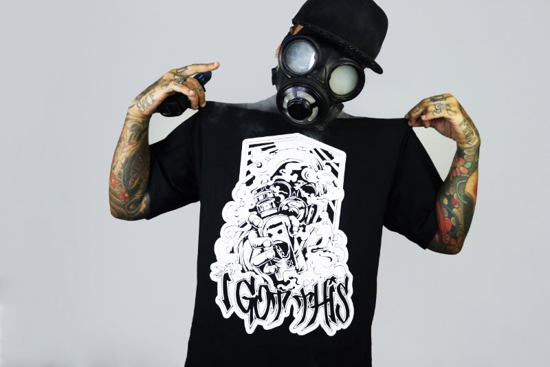 Camiseta GasMask | Black