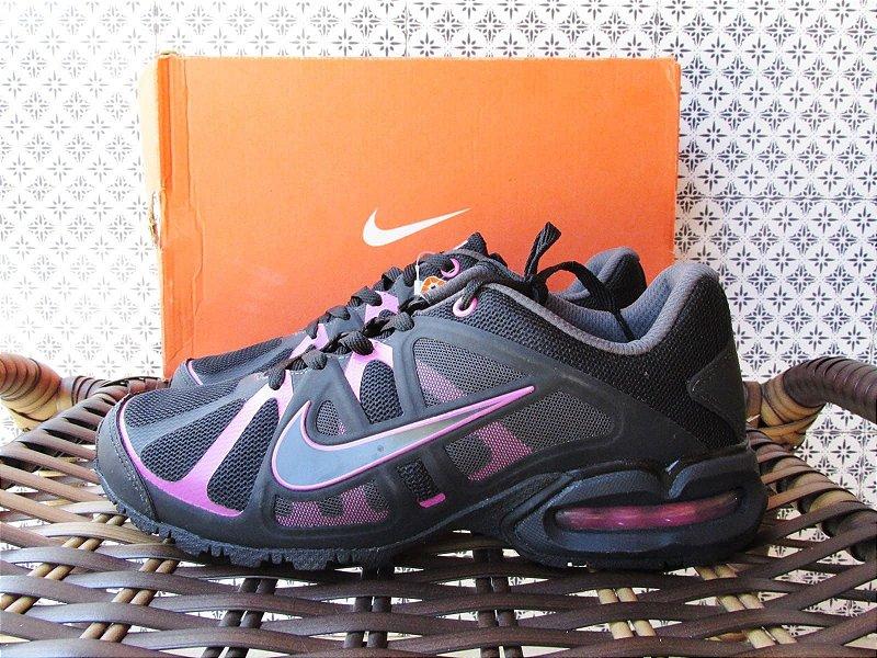 Tênis feminino preto Nike Air Max LTE 3 | Tamanho 38