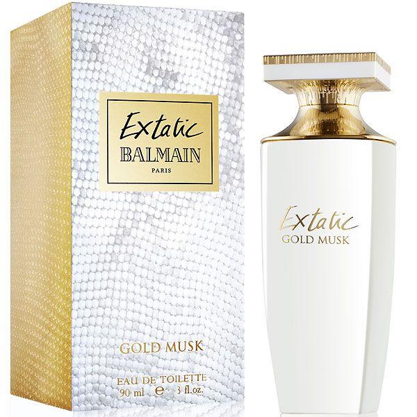 Perfume Balmain Extatic Gold Musk Feminino 90ml | Original Lacrado