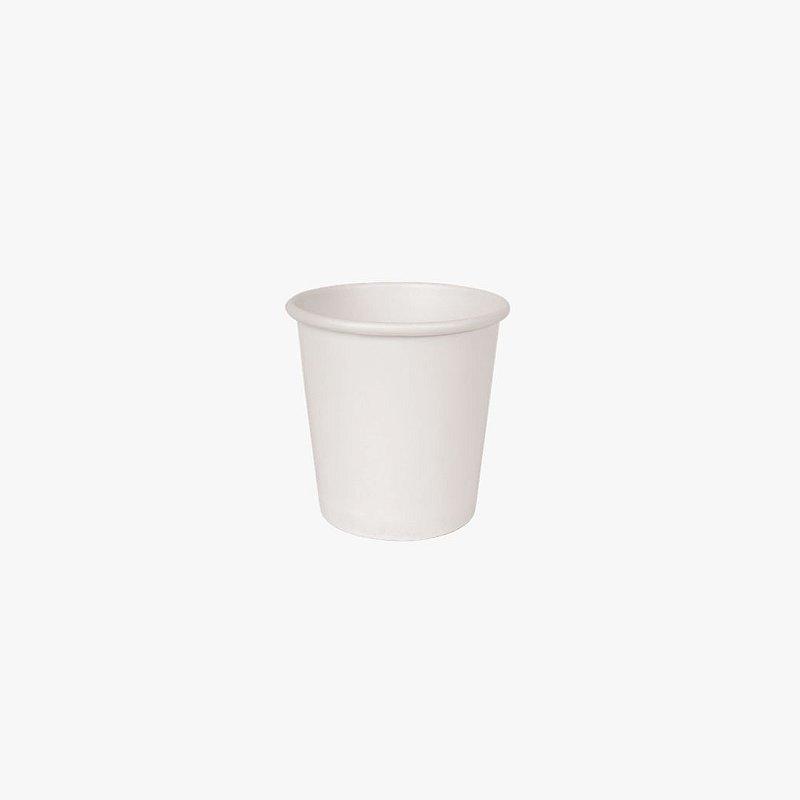 Copo de papel branco 100ml