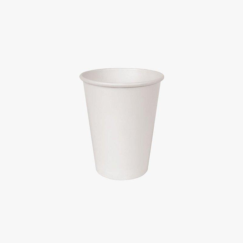 Copo de papel branco 240ml
