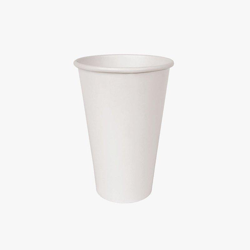 Copo de papel branco 500ml
