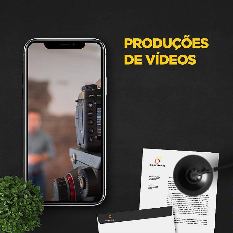 PRODUÇÕES DE VÍDEOS