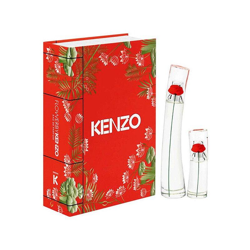 KENZO KIT FLOWER BY KENZO+MINI EDP FEMININO