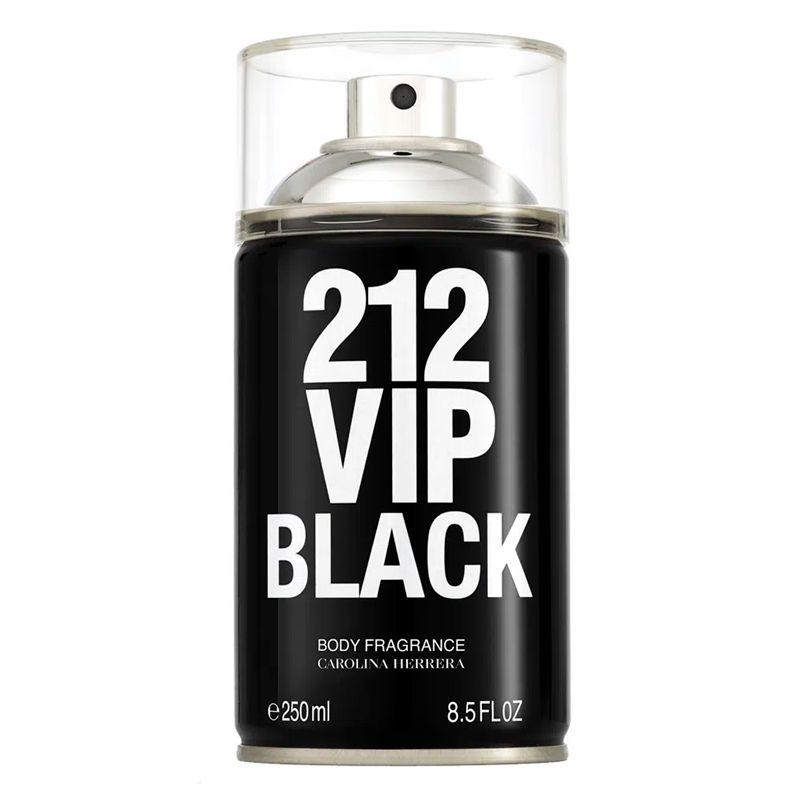 CAROLINA HERRERA 212 VIP BLACK BODY SPRAY MASCULINO