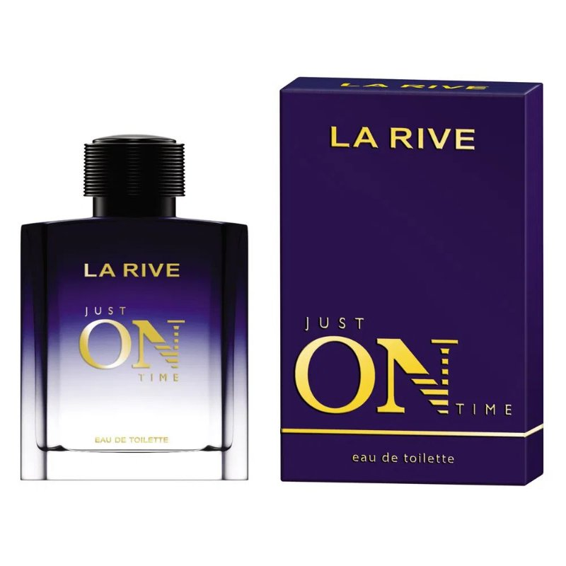 LA RIVE JUST ON TIME EDT MASCULINO