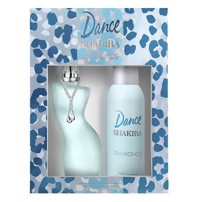 SHAKIRA KIT DANCE DIAMONDS+DEO EDT FEMININO