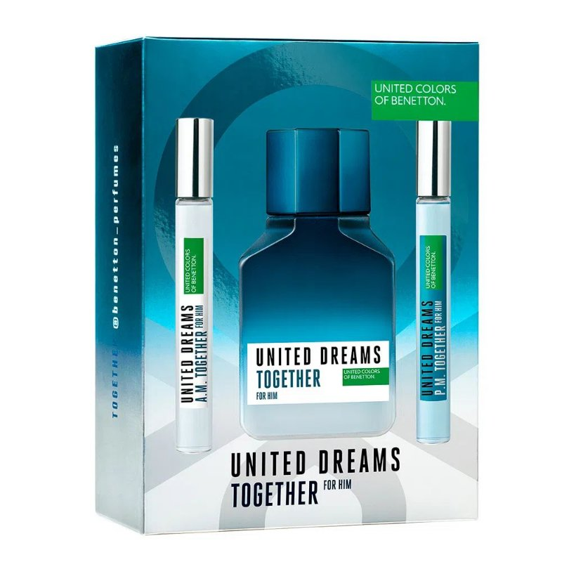 BENETTON TOGETHER+BOOSTER EDT MASCULINO