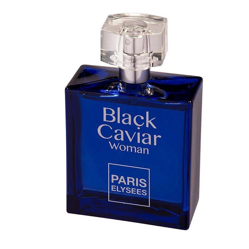 PARIS ELYSEES BLACK CAVIAR WOMAN EDT FEMININO