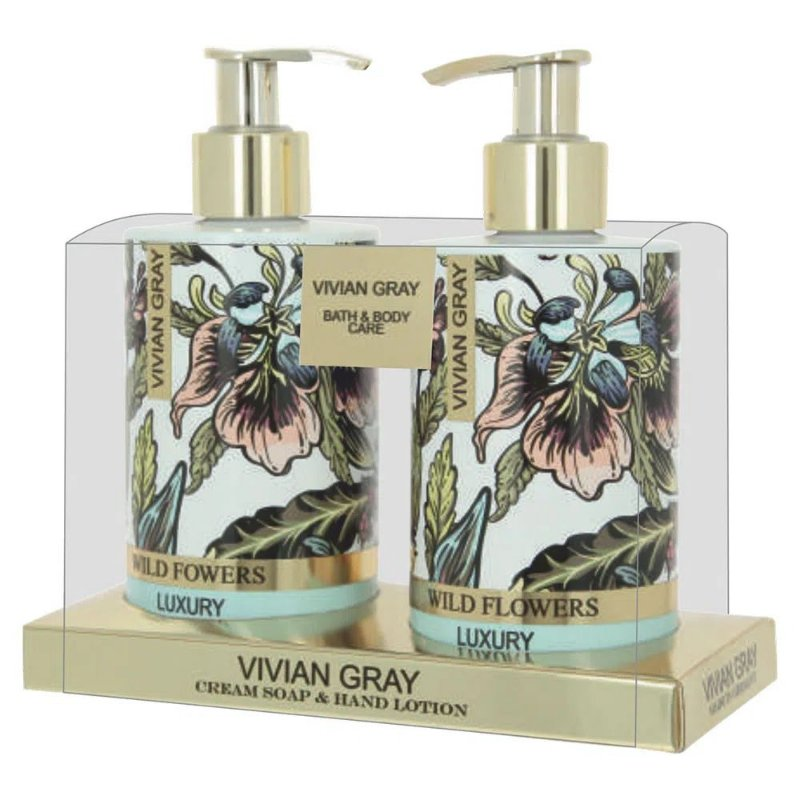 VIVIAN GRAY KIT WILD FLOWERS SABONETE+HIDRATANTE UNISSEX