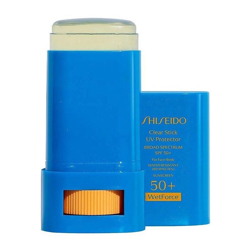 SHISEIDO CLEAR STICK UV PROTECTOR WETFORCE  FPS50+