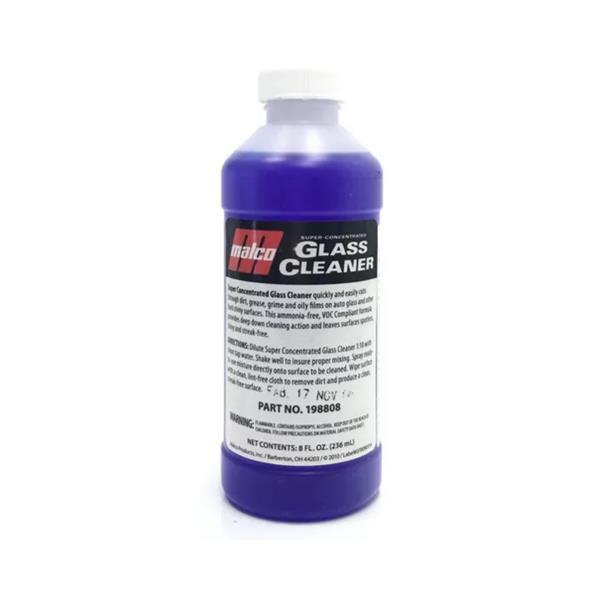 Glass Cleaner - Limpador de Vidros Super Concentrado 236ml - Malco