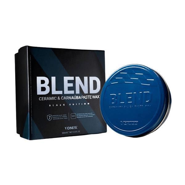 Blend Ceramic & Carnaúba Paste Wax Black 100ml - Vonixx