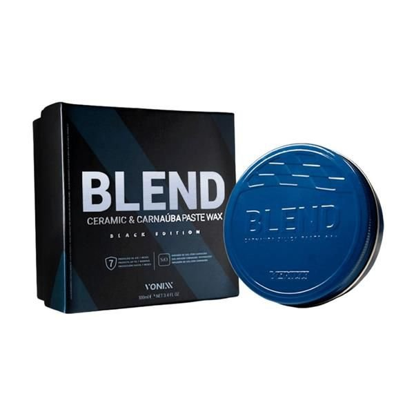 Blend Ceramic & Carnaúba Paste Wax Black 100ml - Vonixx