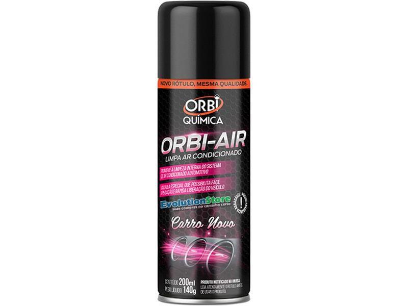 Orbi Air Carro Novo 200ml - Orbi Química