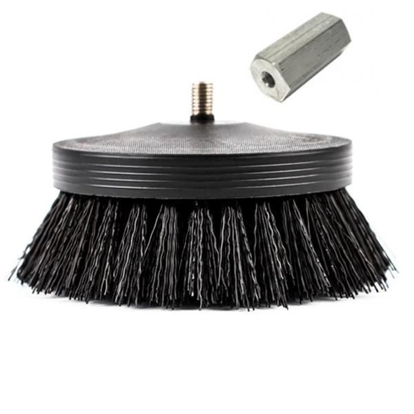 "Escova Pneumatic Carpet Brush 3,5"" (Black) Agressiva - SGCB"