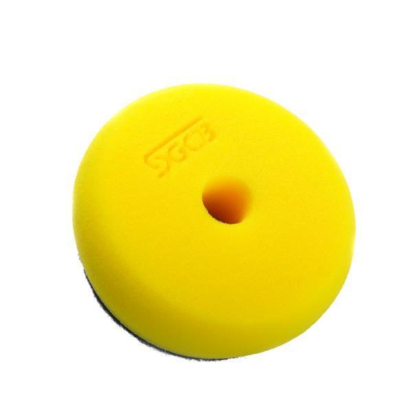 """Boina de Espuma Amarela 3"""" Lustro - SGCB"""