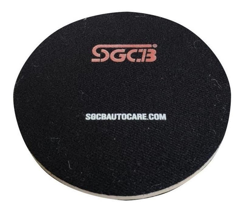 "Boina Polimento de Vidro 6"" - SGCB"