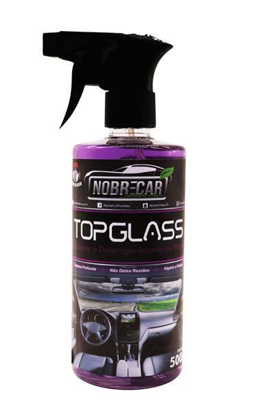 Top Glass - Limpa e Desengordurante Vidros 500ml - Nobrecar