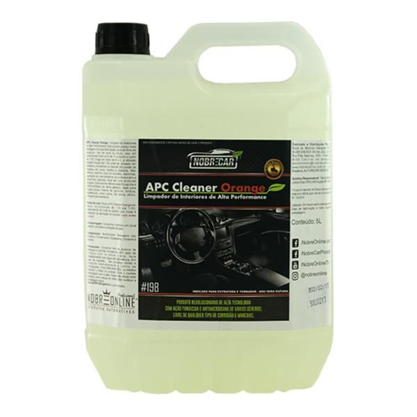 APC Cleaner Orange 5L - Nobrecar