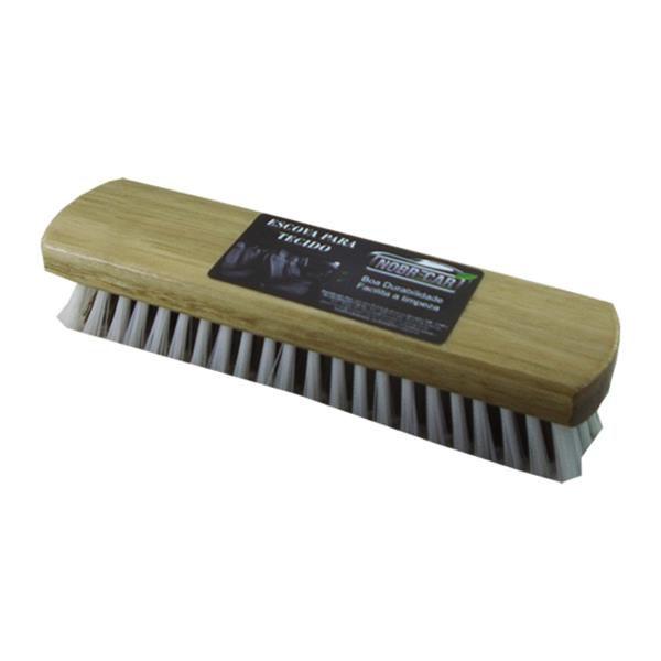 Escova Limpeza de Couro Cinza N1 - Nobrecar