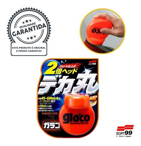 Glaco Roll One Big  - Cristalizador e Repelente de Chuva 120ml - Soft99
