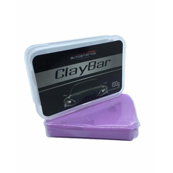 Clay Bar (Remove Pulverizações de Tinta) 100gr - Autoamerica